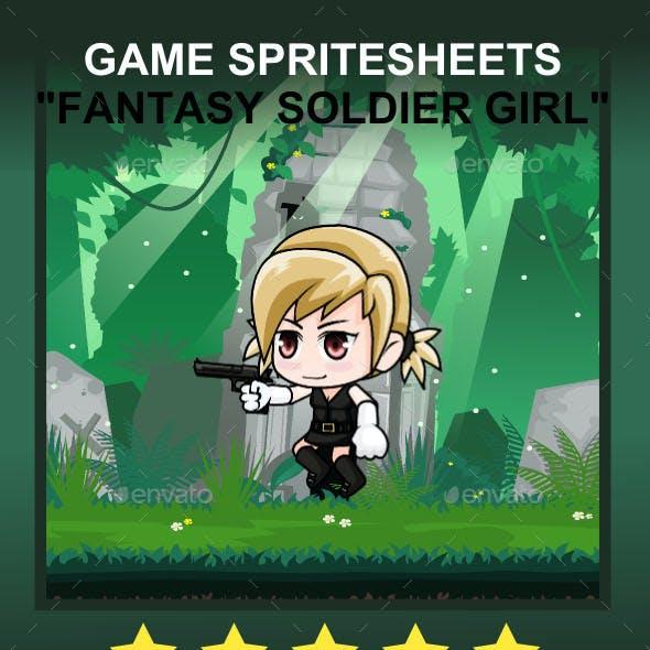 Fanatsy Warrior #2 Sprite Character