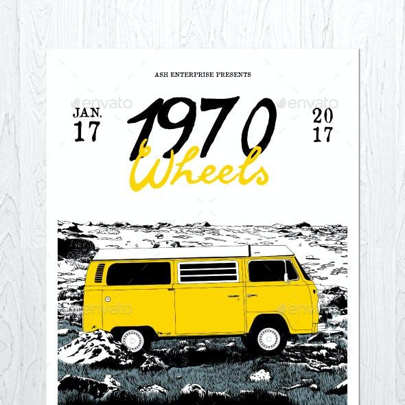 1970 Wheels Flyer