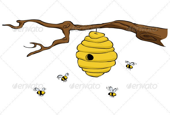 Beehive - Animals Characters