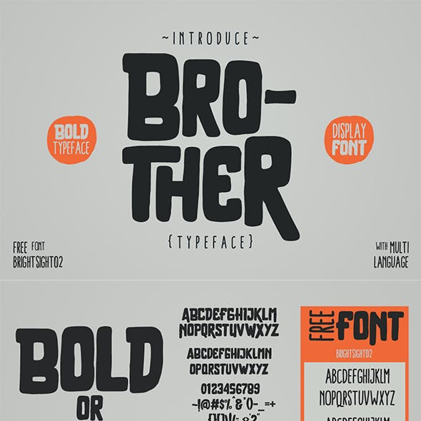 Brother Typeface