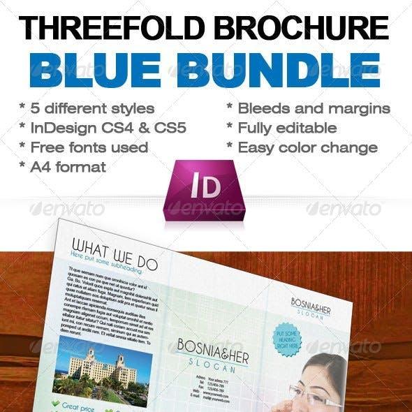 Three Fold Brochure Bundle InDesign Template