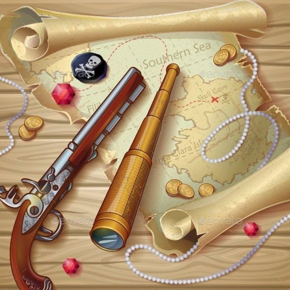 Piratic Map Composition