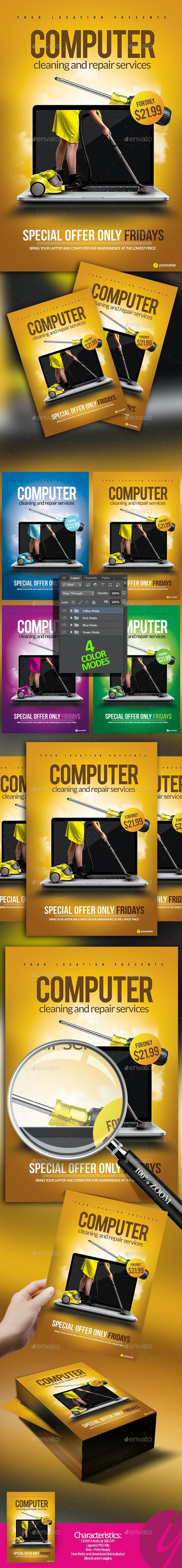 Computer Services Flyer - Miscellaneous Events