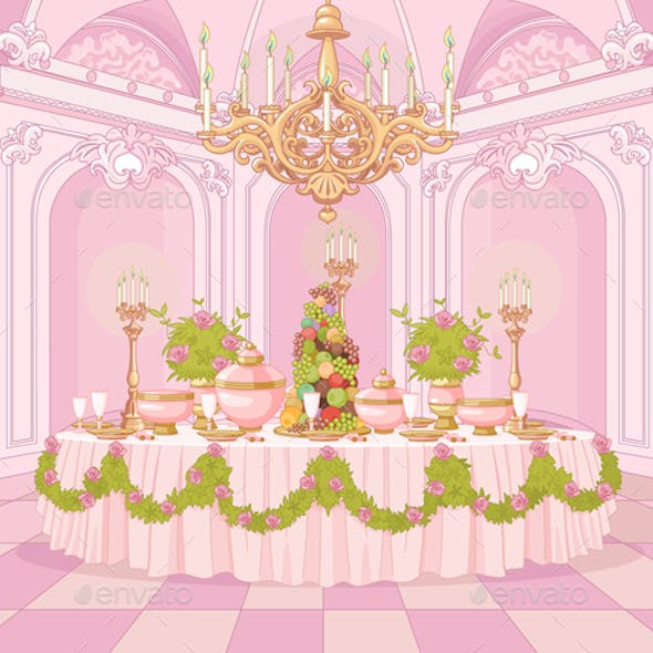 Dining Room in Princess Palace