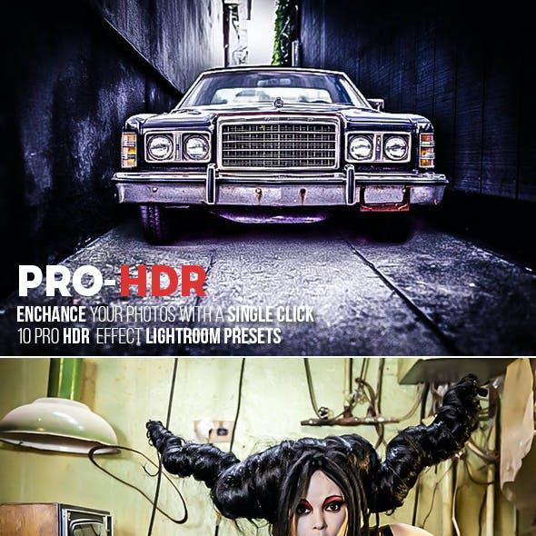 10 PRO HDR Lightroom Presets