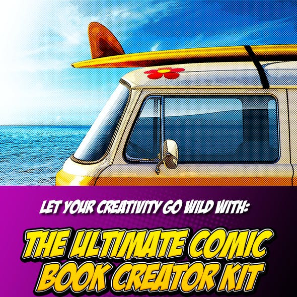 Comic Book Creator by LrFlare-LRF