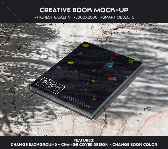 Creative Book Mock-Up - Books Print