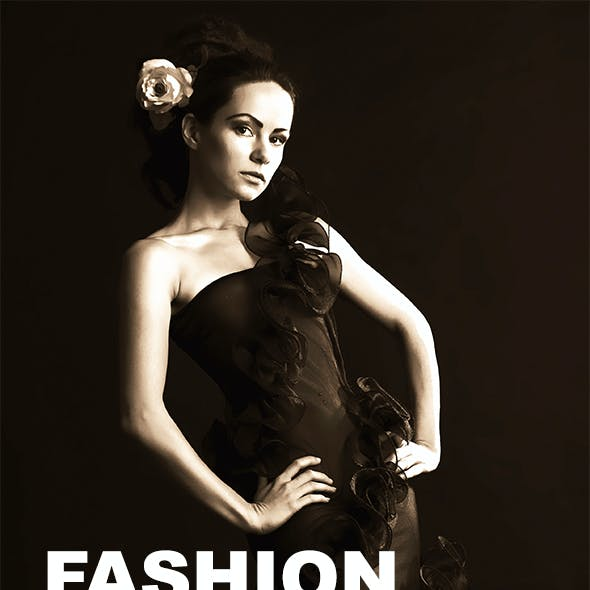 Fashion - Photoshop Action #54