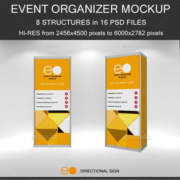 8 Event Organizer Mockup