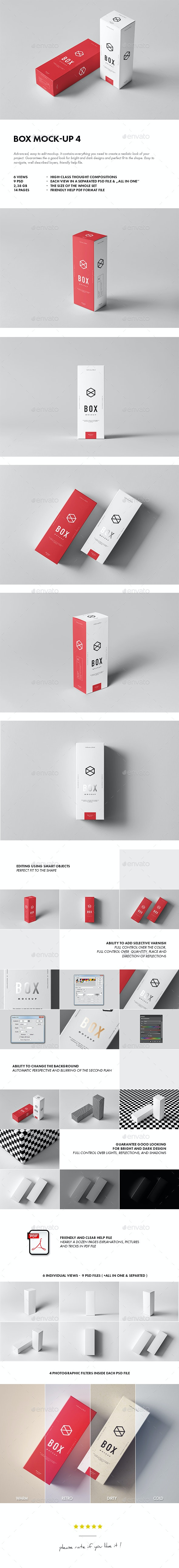 Box Mock-up 4 - Miscellaneous Packaging