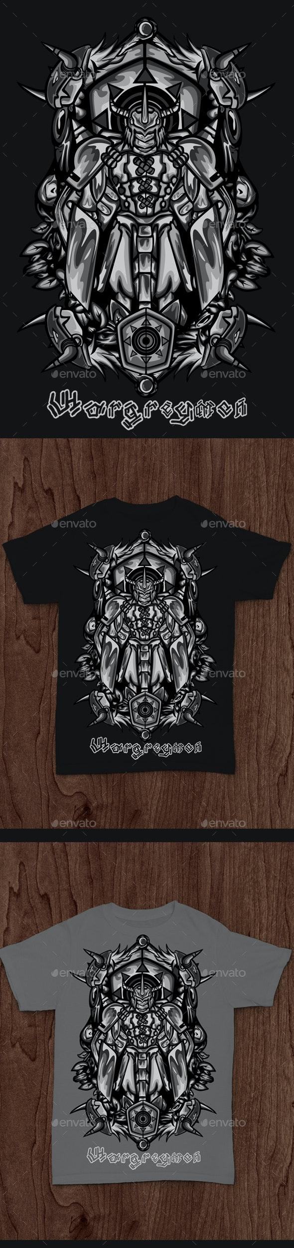 Black Wargreymon - Designs T-Shirts