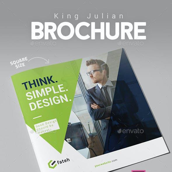 King Julian Brochure - Square