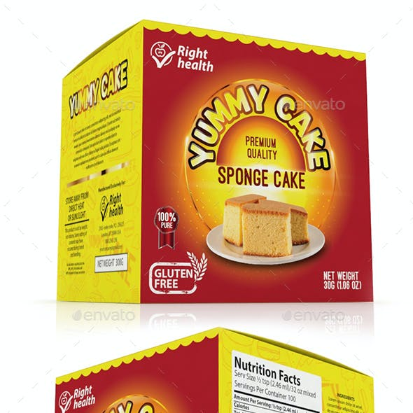 Cake Packaging Templates