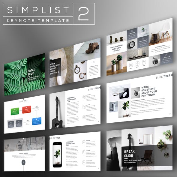 SIMPLIST 2 Keynote Template