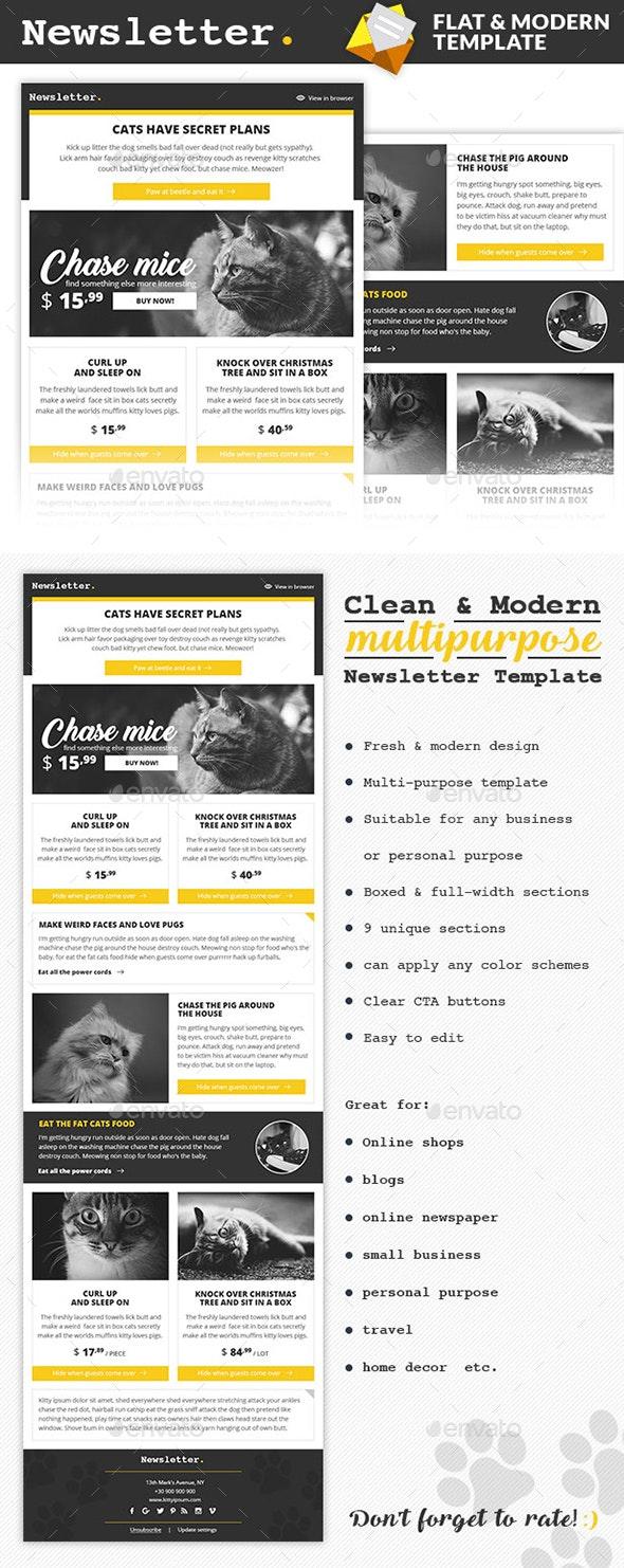 DOT - Multipurpose eNewsletter Design