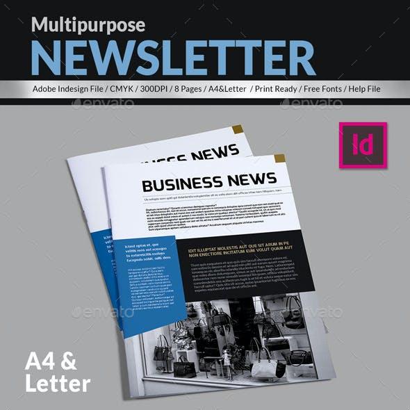 Business News - Multipurpose Newsleter Template