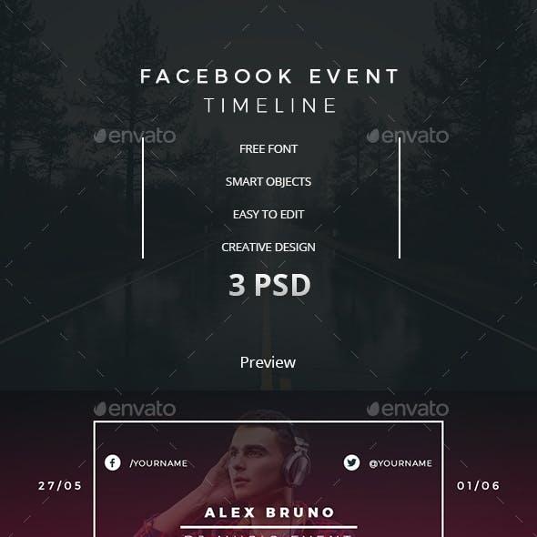 Facebook Event Timeline