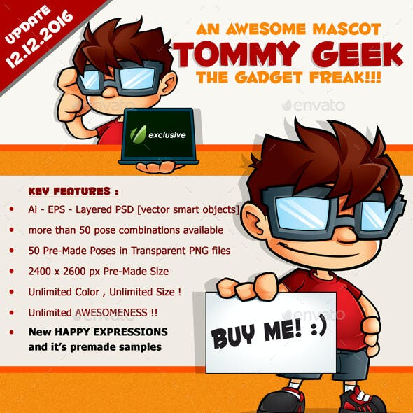 Tommy Geek the Gadget Freak