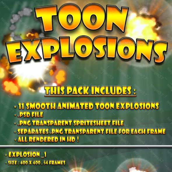 Toon Explosion Pack