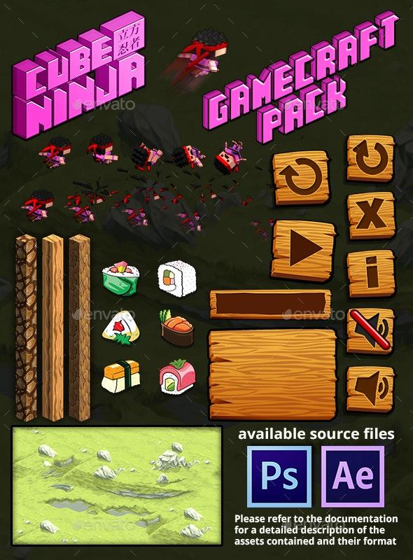 Cube Ninja - Game Assets - Game Kits Game Assets