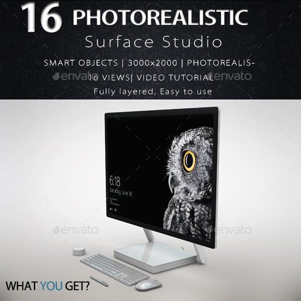 Surface Studio Mock Up
