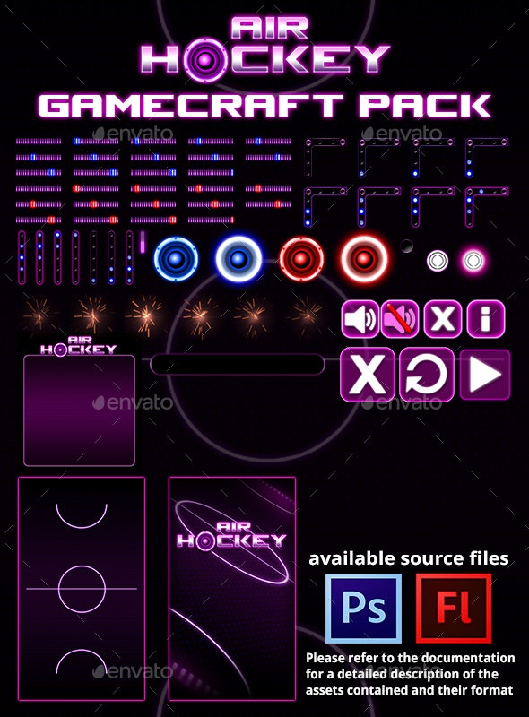 Air Hockey - Game Assets - Game Kits Game Assets