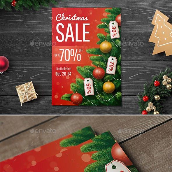 Christmas Sale Flyer/Poster
