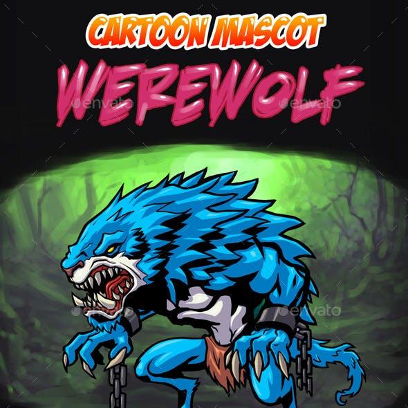 Werewolf Cartoon Mascot