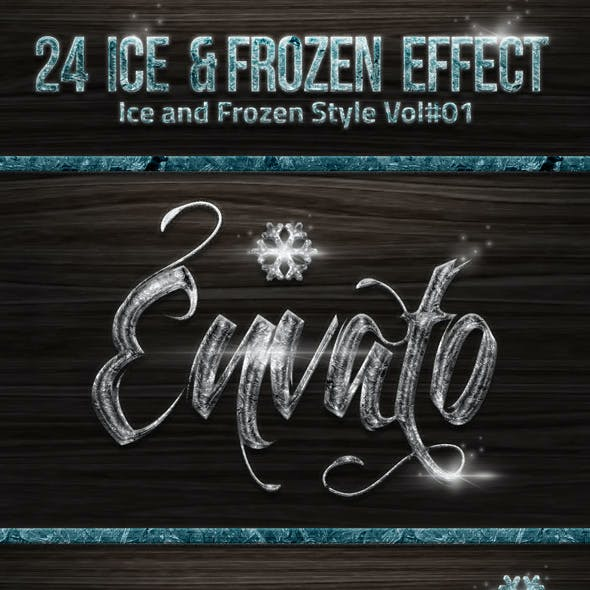 24 Frozen and Ice Styles V01