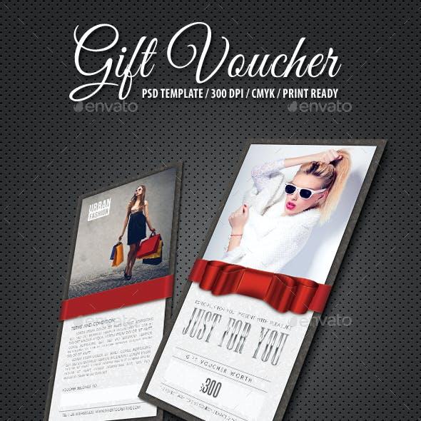 Gift Voucher Boutique