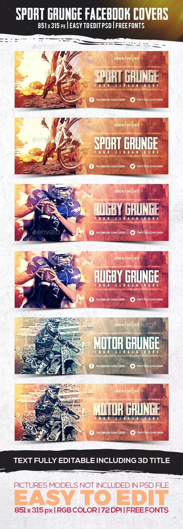 Sport Grunge Facebook Timeline Cover - Facebook Timeline Covers Social Media