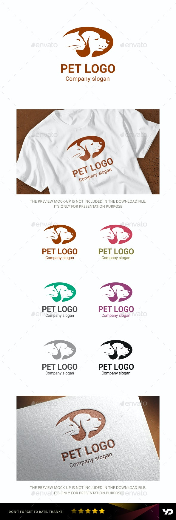 Pet - Animals Logo Templates