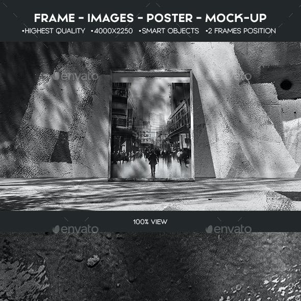 Creative Image Frame Mock-Up