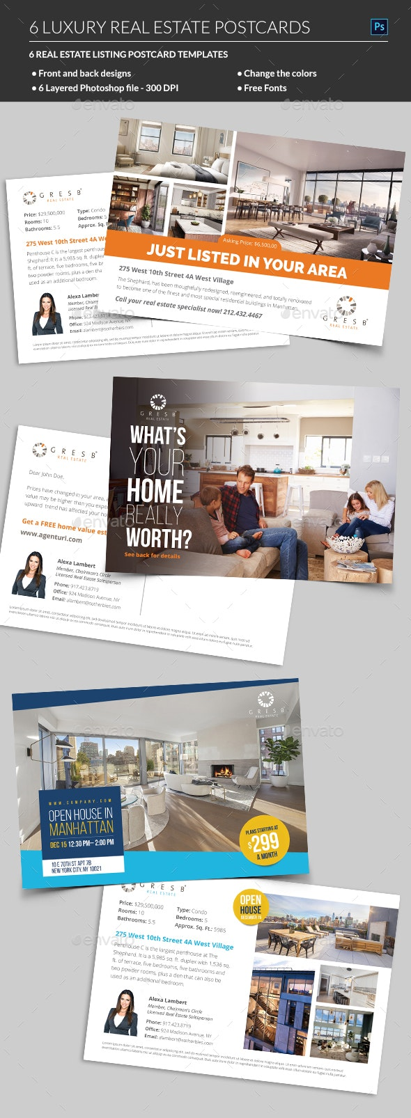 Real Estate Postcard - Corporate Flyers