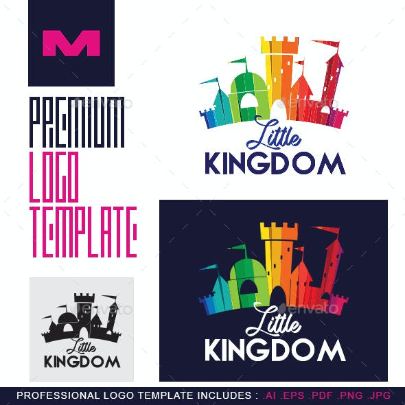 Little Kingdom - Logo Template for Baby Products, Kids Stores & Nursery Schools