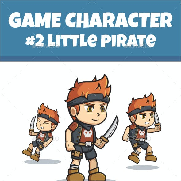 Little Pirate Sprite Character