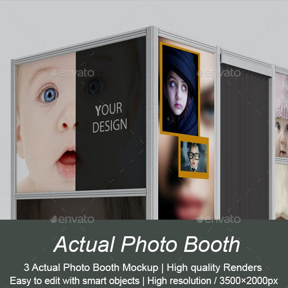 Actual Photo Booth Mockup