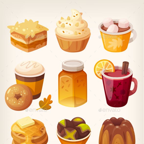 Autumn Sweets and Desserts
