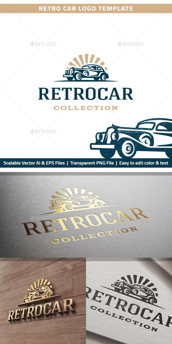 Retro Car Logo - Objects Logo Templates