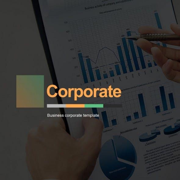 Corporate Business Google Slides Template