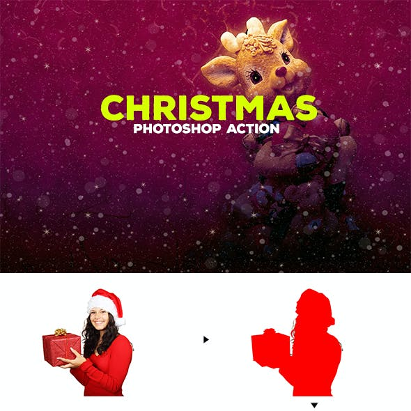 Christmas - Photoshop Action #57