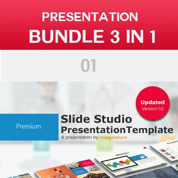 Bundle 3 in 1 Power Point Presentation