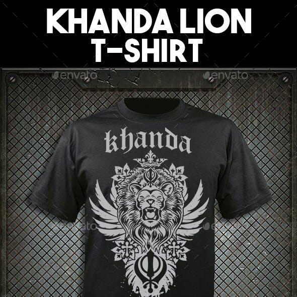 Khanda Lion