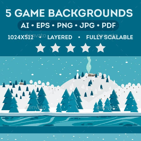 Christmas Game Background