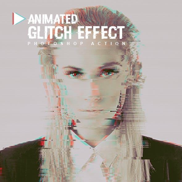 Animated Glitch Effect