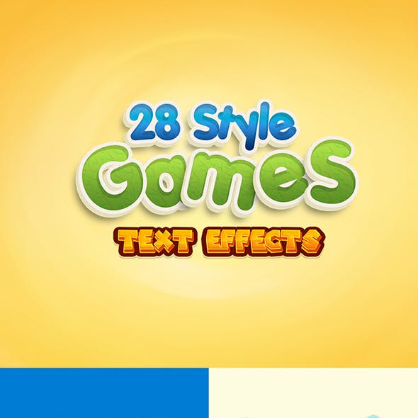 28 Games Style Text Effects