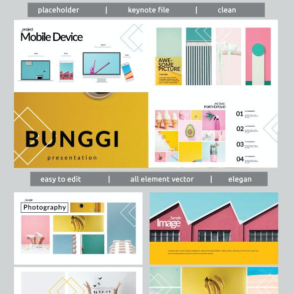 Bunggi - Multipurpose Keynote Template