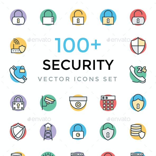 100+ Security Vector Icons