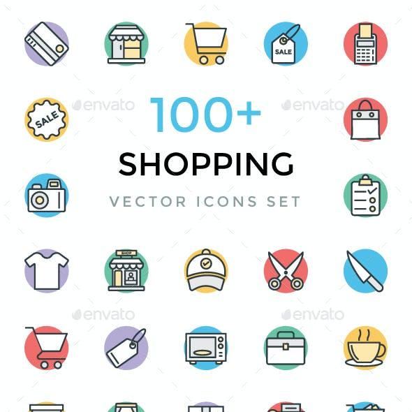 100+ Shopping Vector Icons