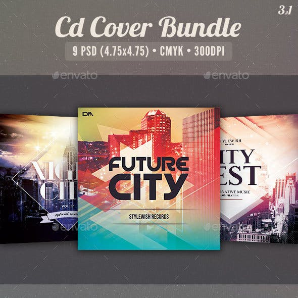 City CD Cover Bundle Vol.04